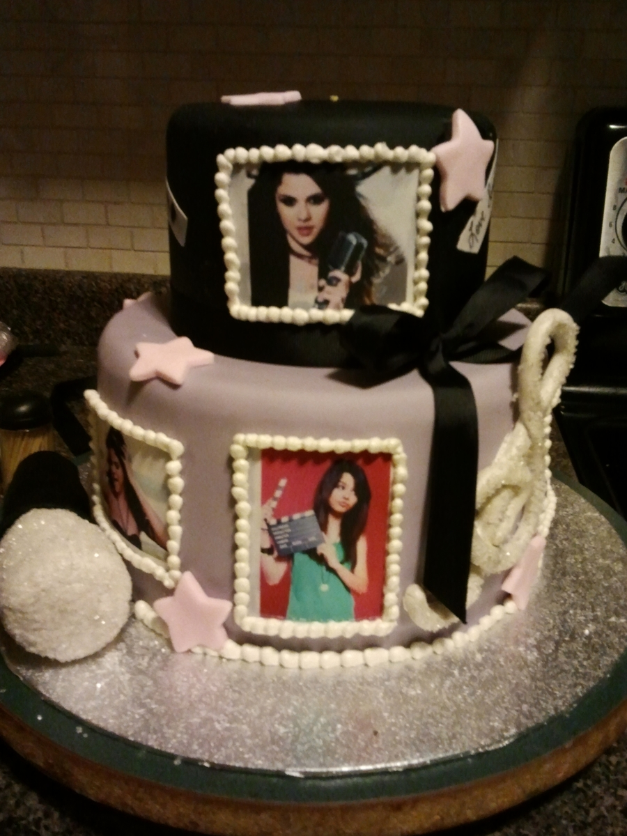 Super Selena Gomez Cakecentral Com Funny Birthday Cards Online Drosicarndamsfinfo