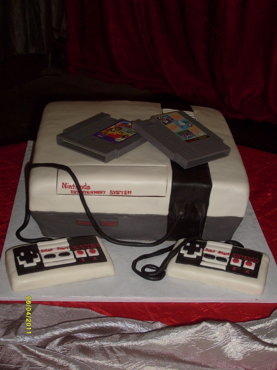 Nintendo Entertainment System on Cake Central