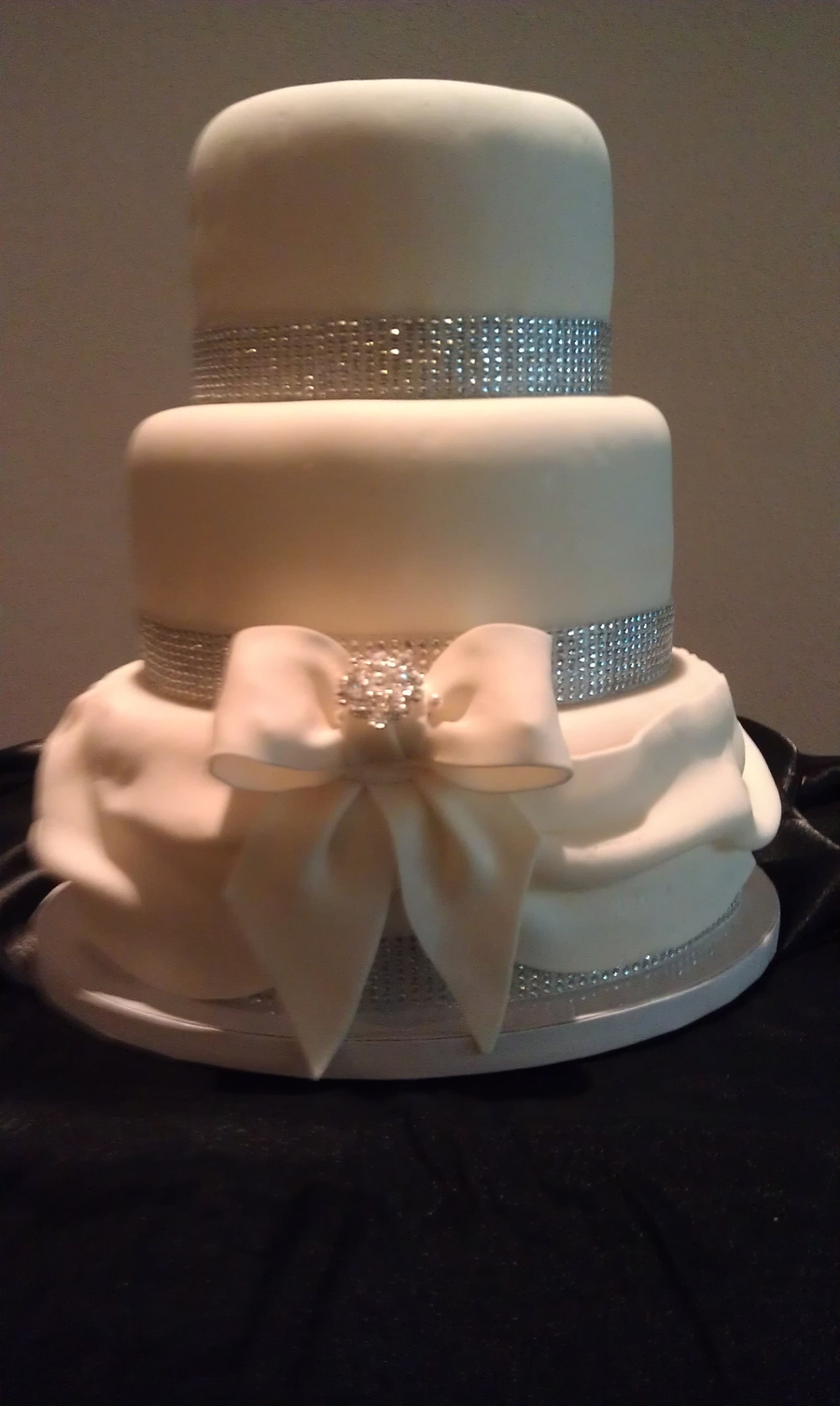 Bling And Bow on Cake Central