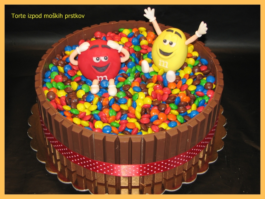 M&m on Cake Central