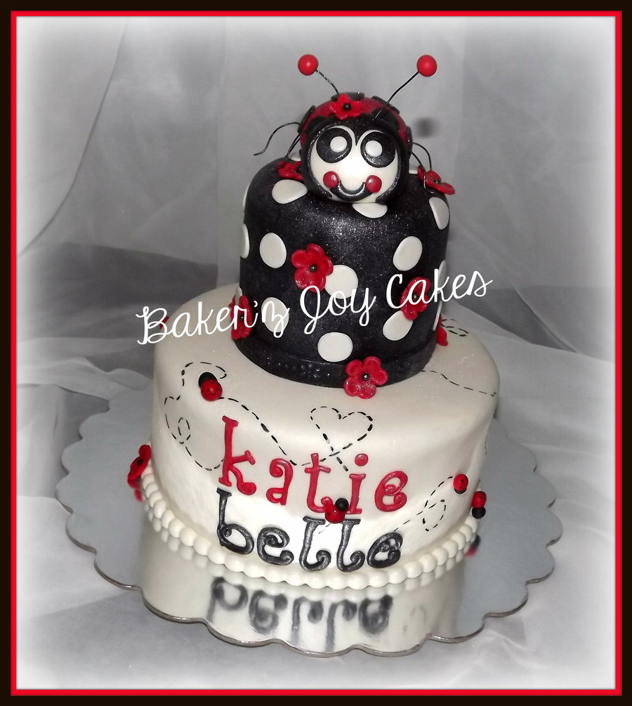 Katie Belle Is Having A Birthdayher Mommy Ordered Her The Yummy Sugar Cookie Vanilla With Vanilla Bean Cream Cheese For The Bottom Tier on Cake Central