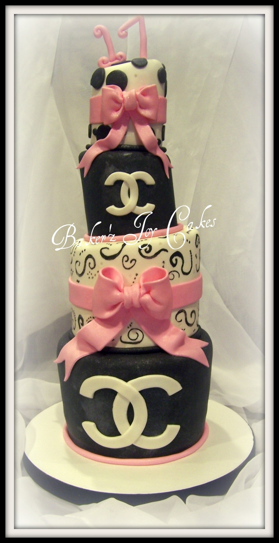 Chanel Cake on Cake Central