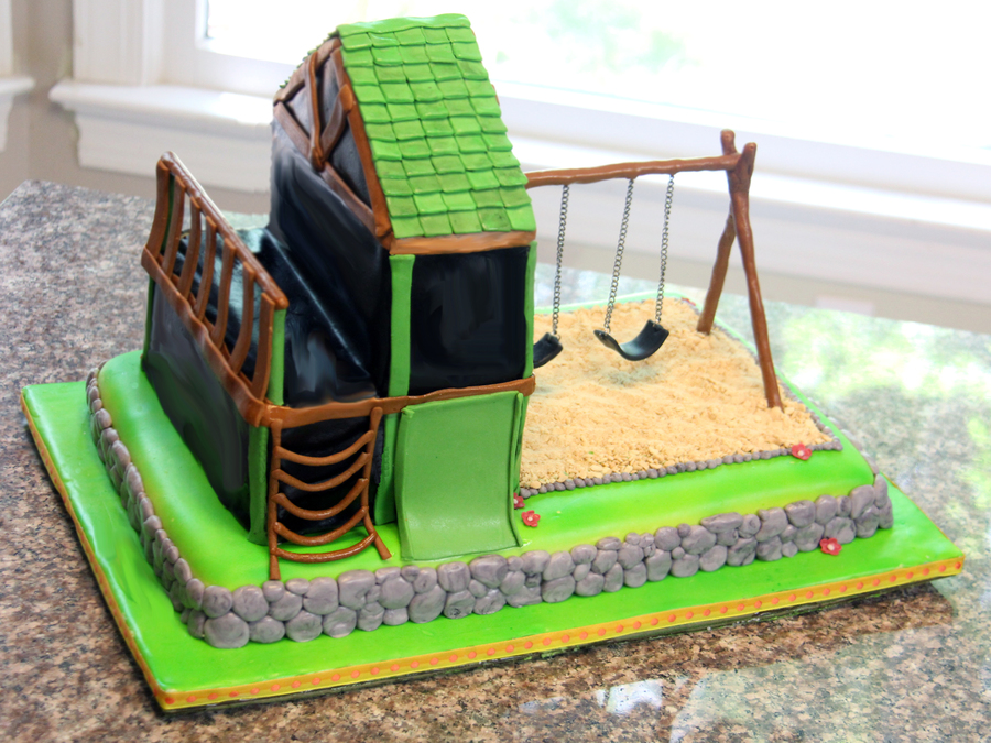 Playset  on Cake Central