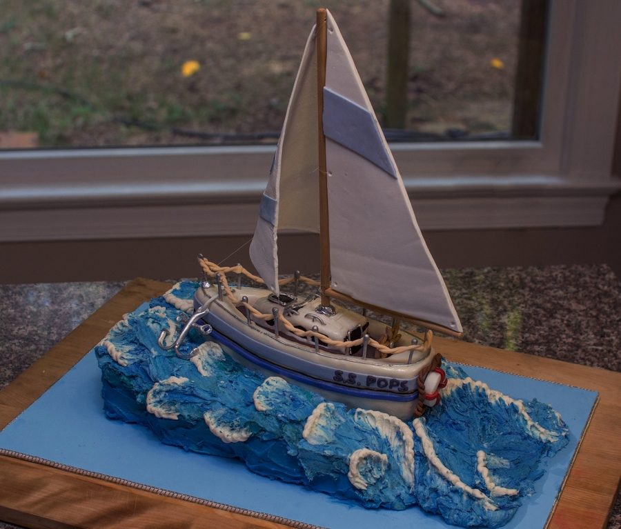How To Make A Sailboat Cake