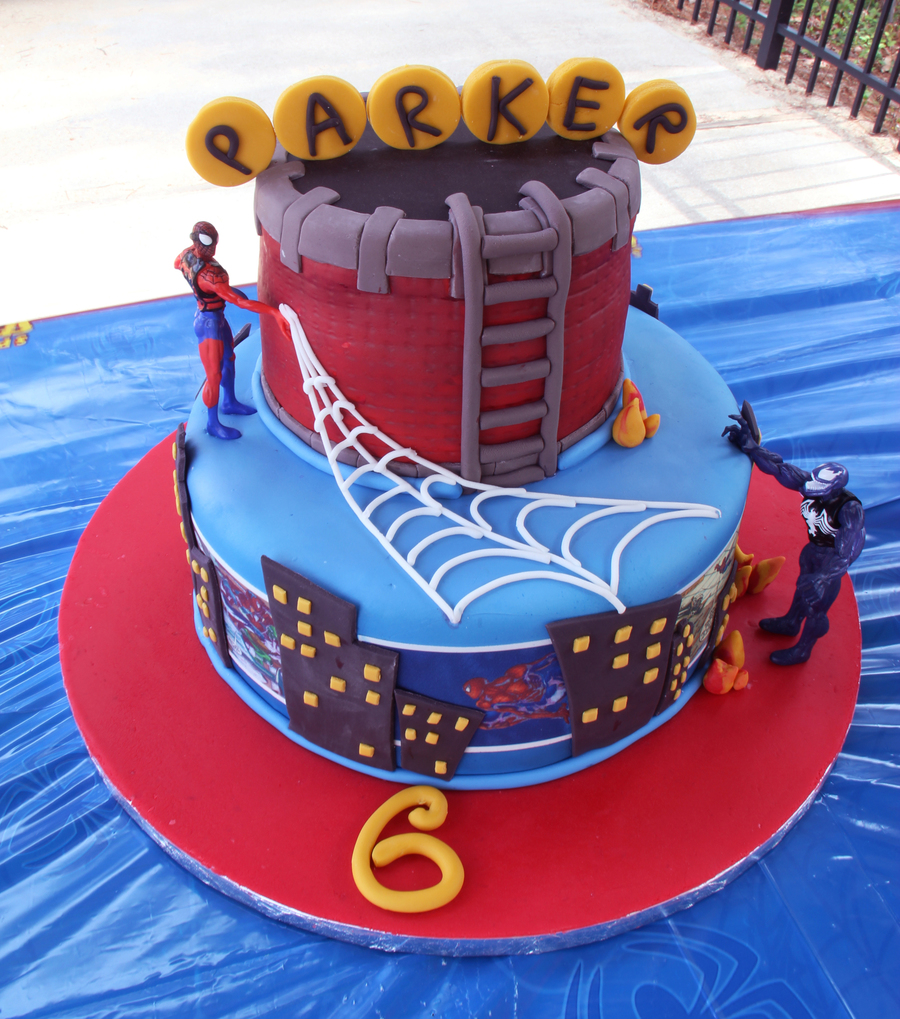 6th Birthday Spiderman Cake Cakecentral Com