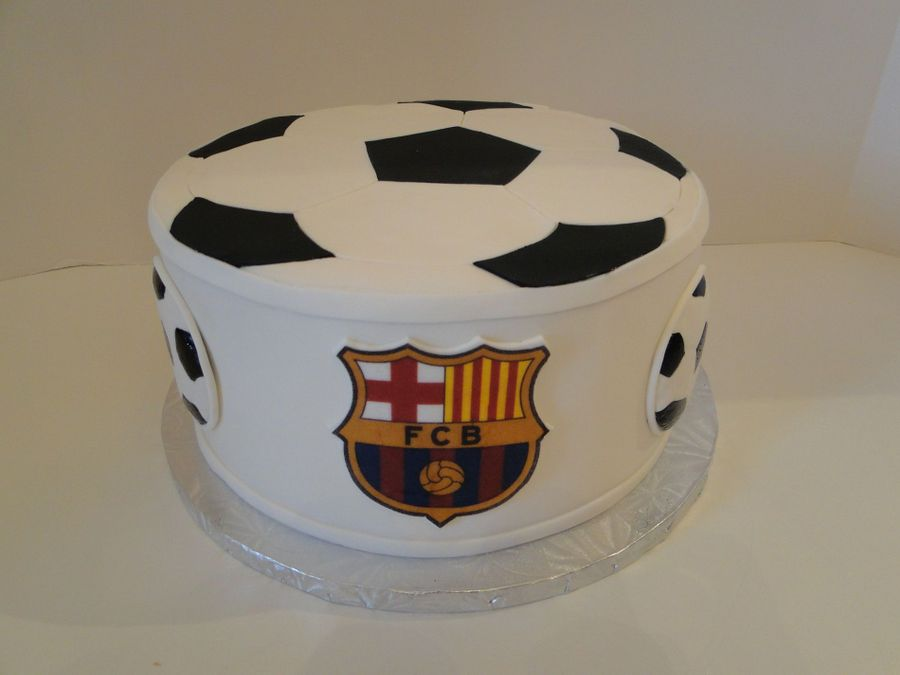 Barcelona Spain Soccer Cake on Cake Central