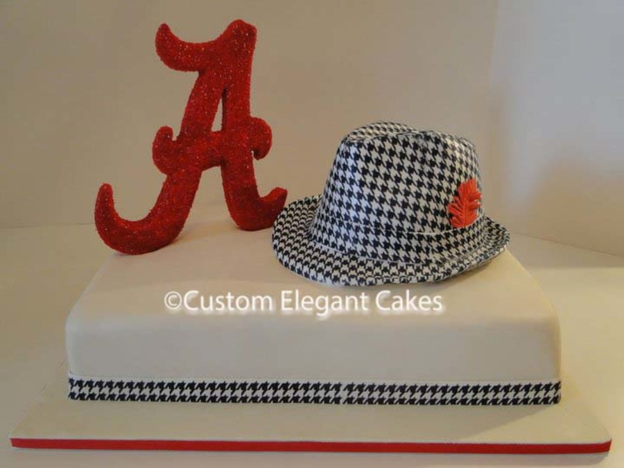 Alabama Grooms Cake on Cake Central