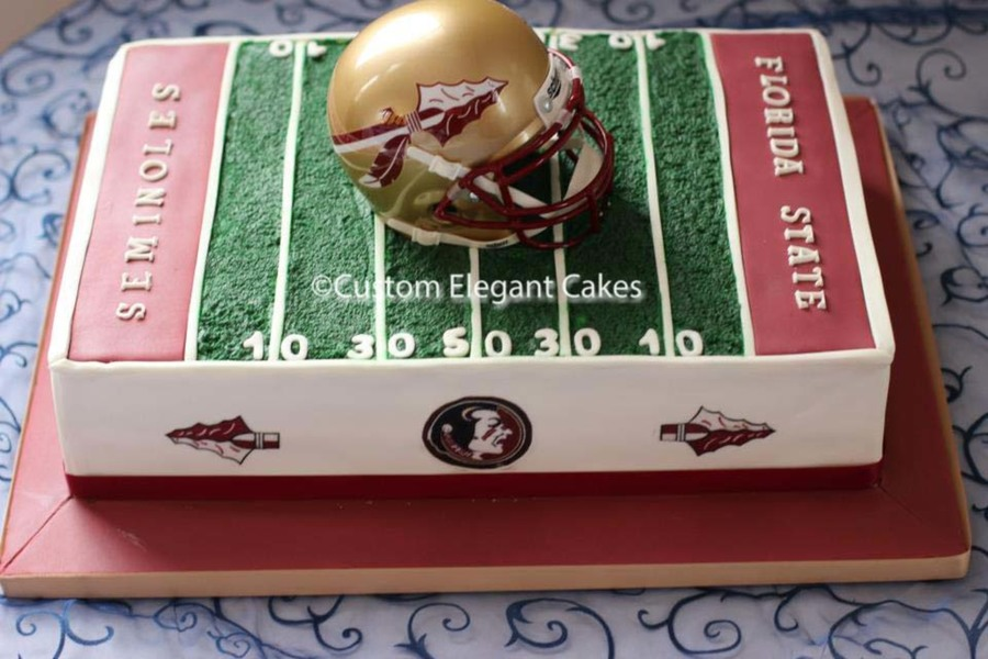 Seminole Grooms Cake on Cake Central