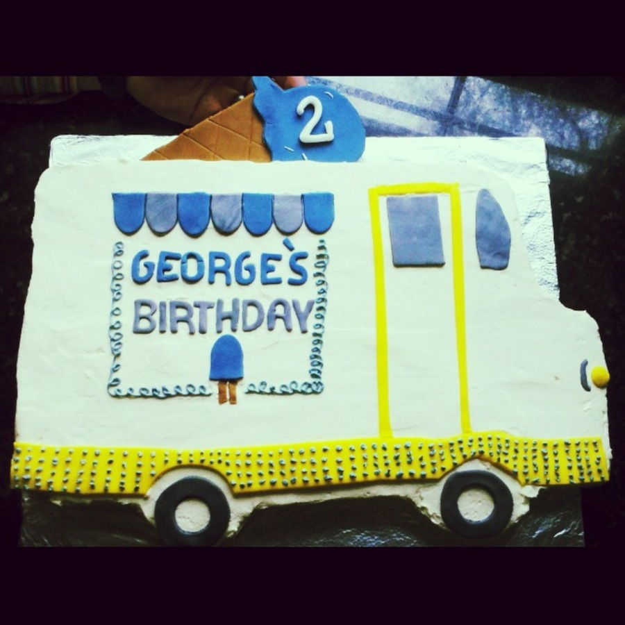 Ice Cream Truck Cake on Cake Central