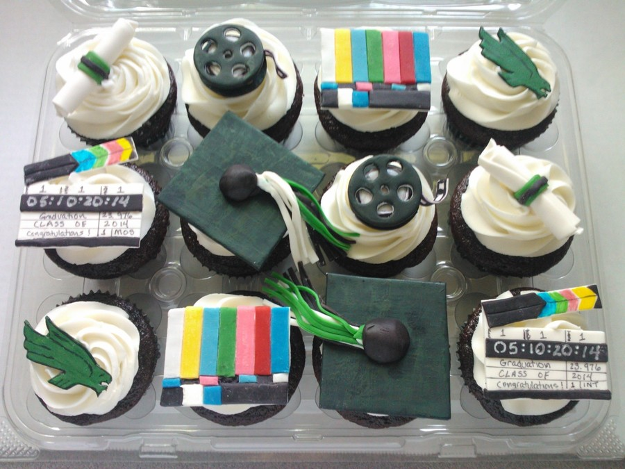 Film School Graduation Cupcakes on Cake Central