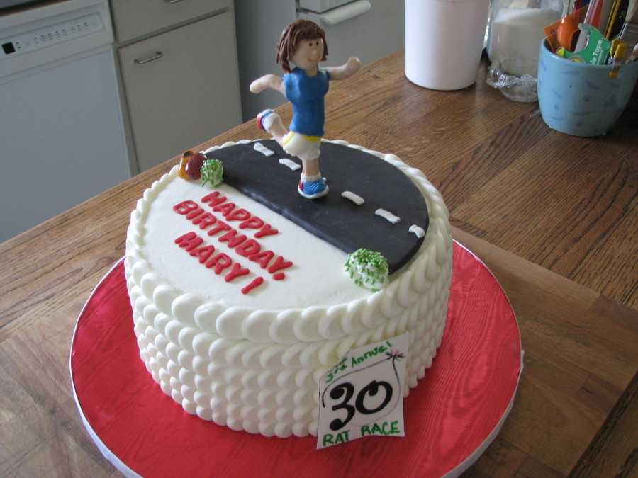 Birthday Cake Pictures For Runners : Runner s Birthday - CakeCentral.com