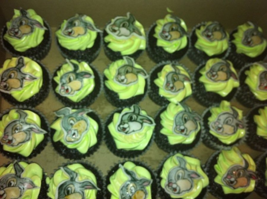 Thumper From Bambi Cupcakes on Cake Central