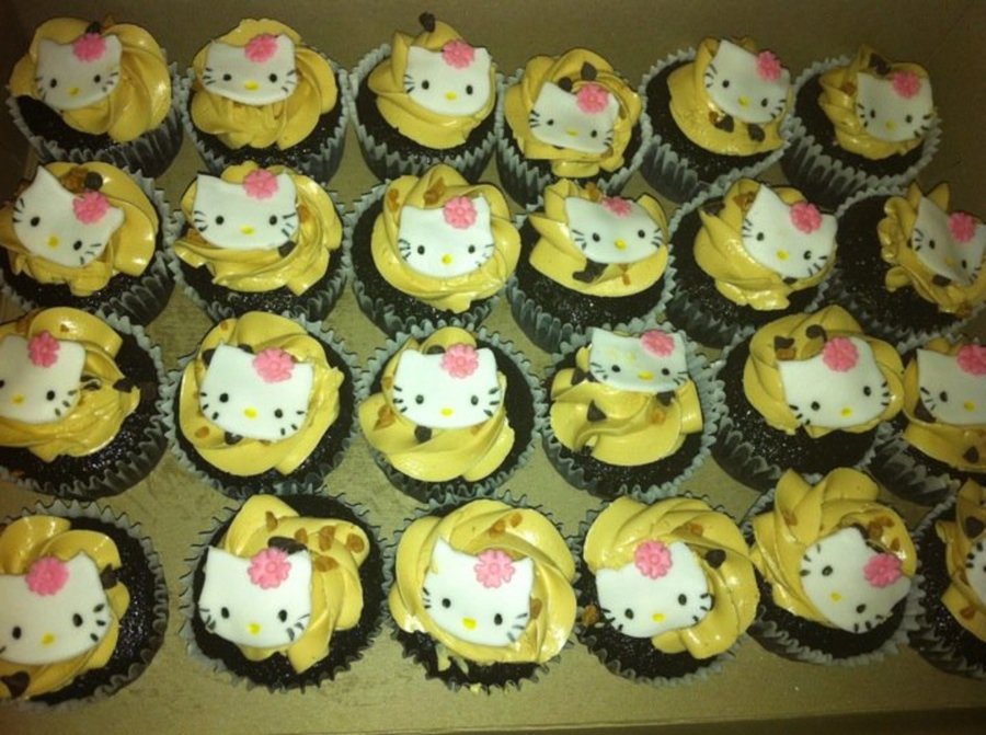 Hello Kitty Cupcakes Ver 2 on Cake Central