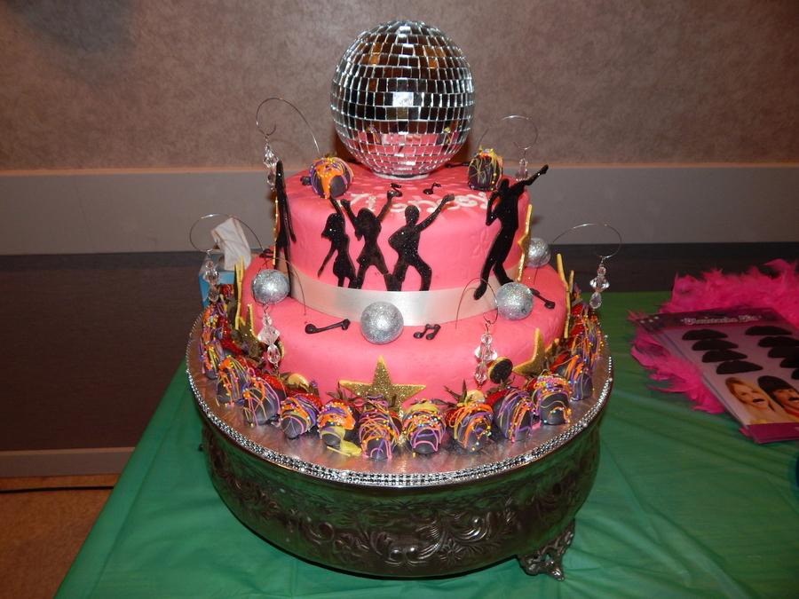 Disco Dance Cake Cakecentral Com