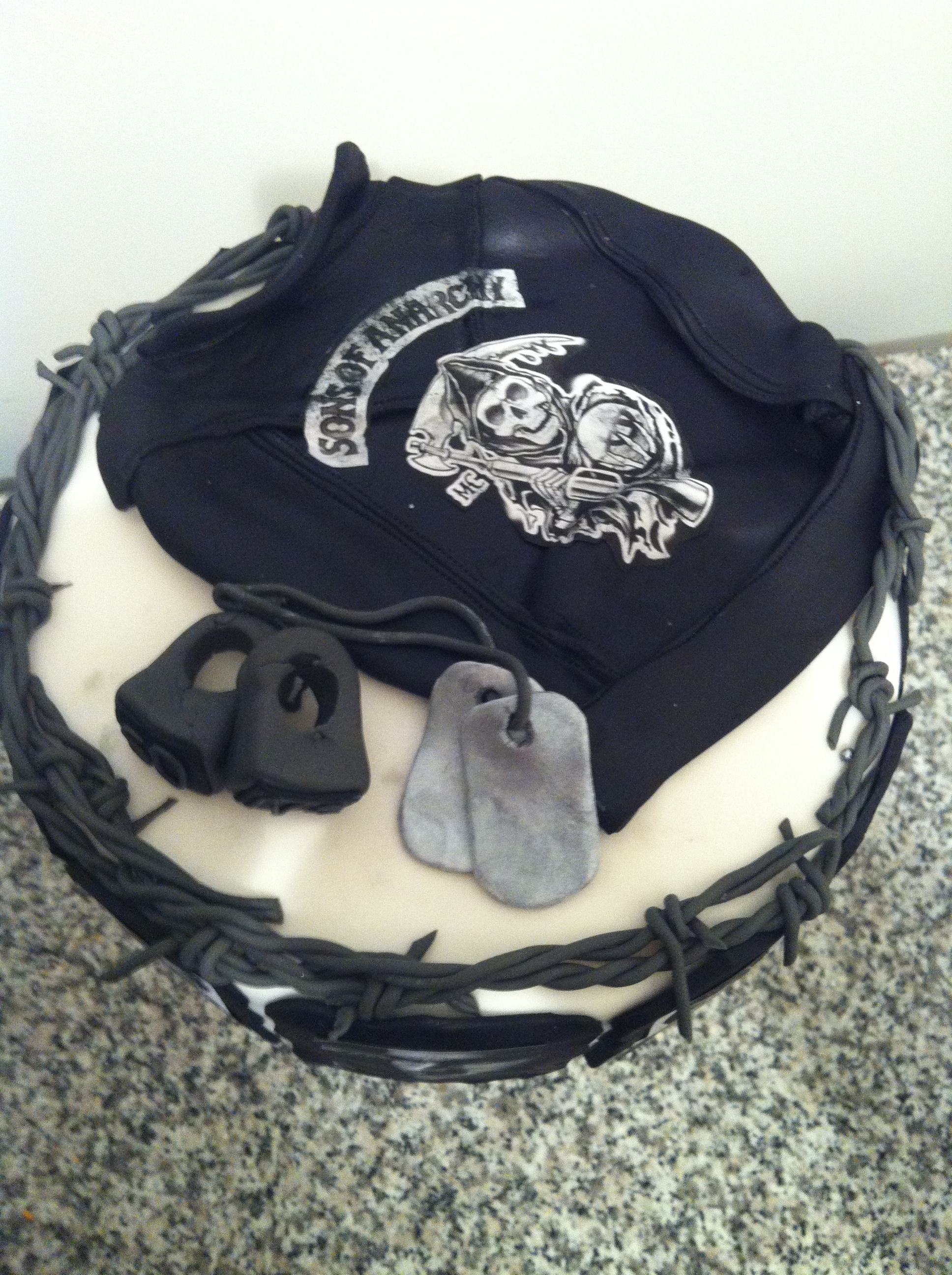 Sons Of Anarchy Cake Cakecentral Com