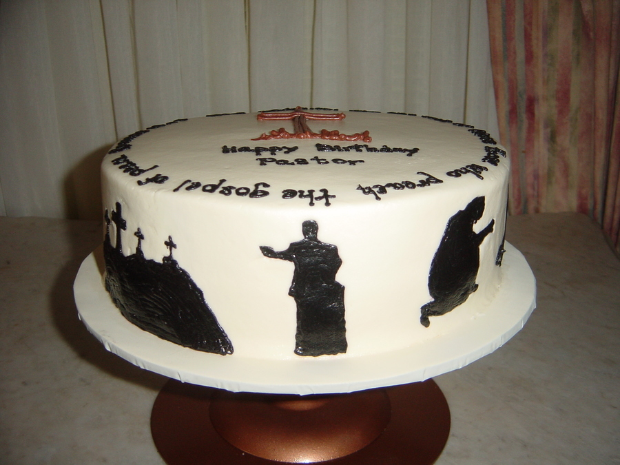 Pictures Of Birthday Cakes For Pastors