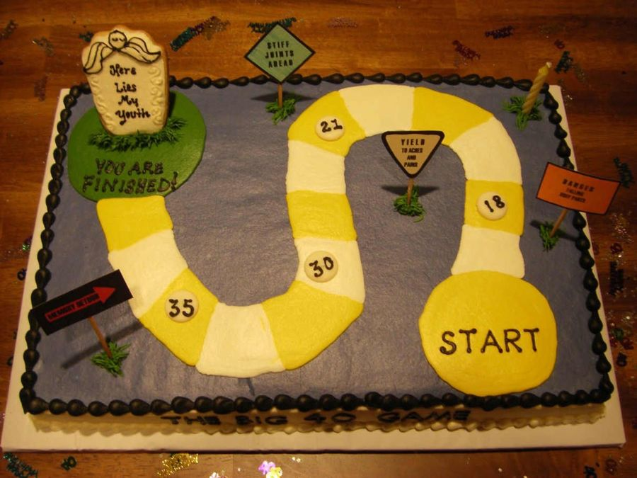 The Big 40 Game! on Cake Central