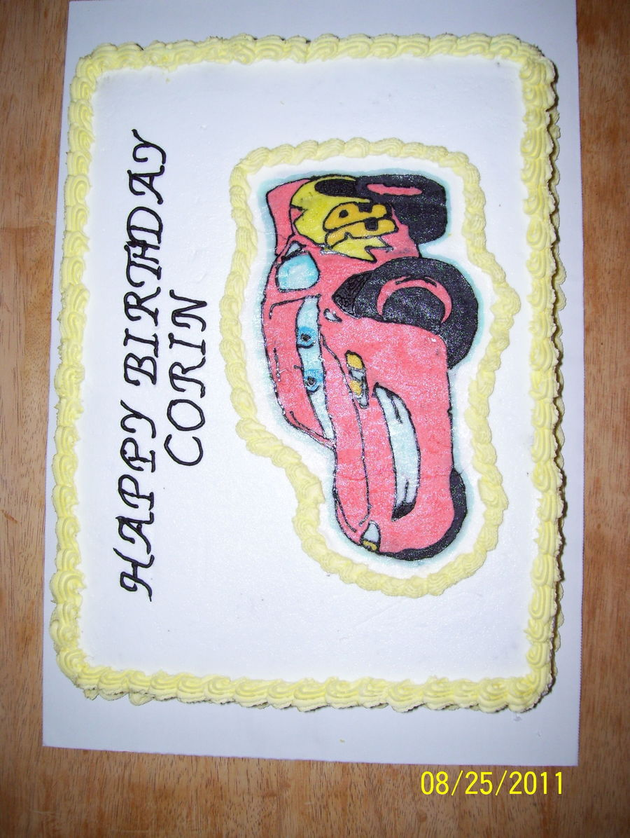 Lighting Mcqueen Cake on Cake Central