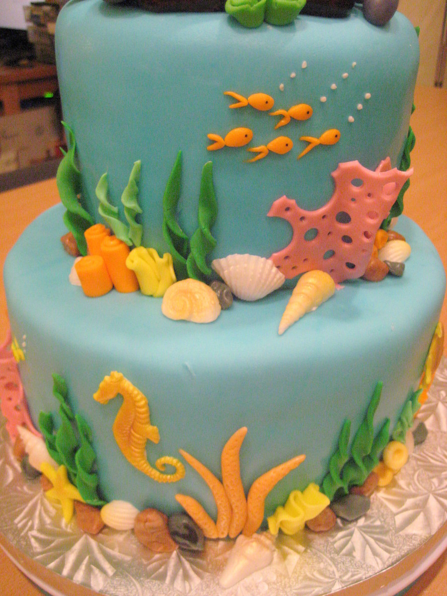 Underwater Cake Decorations
