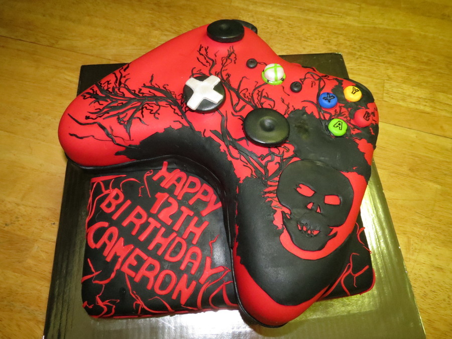 Xbox Controller on Cake Central