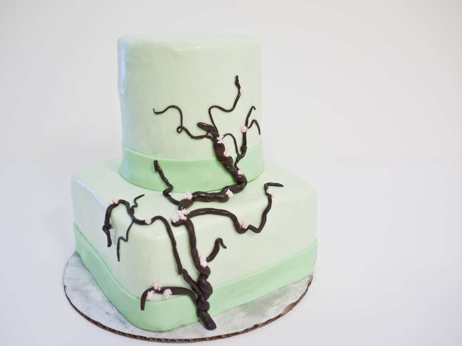Green Blossom on Cake Central