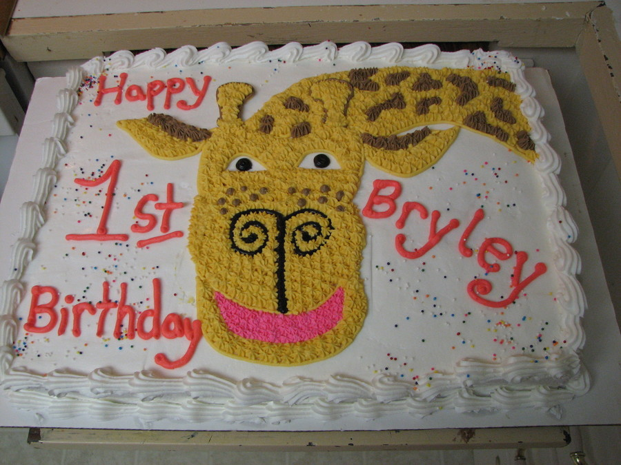 Giraffe Cake on Cake Central