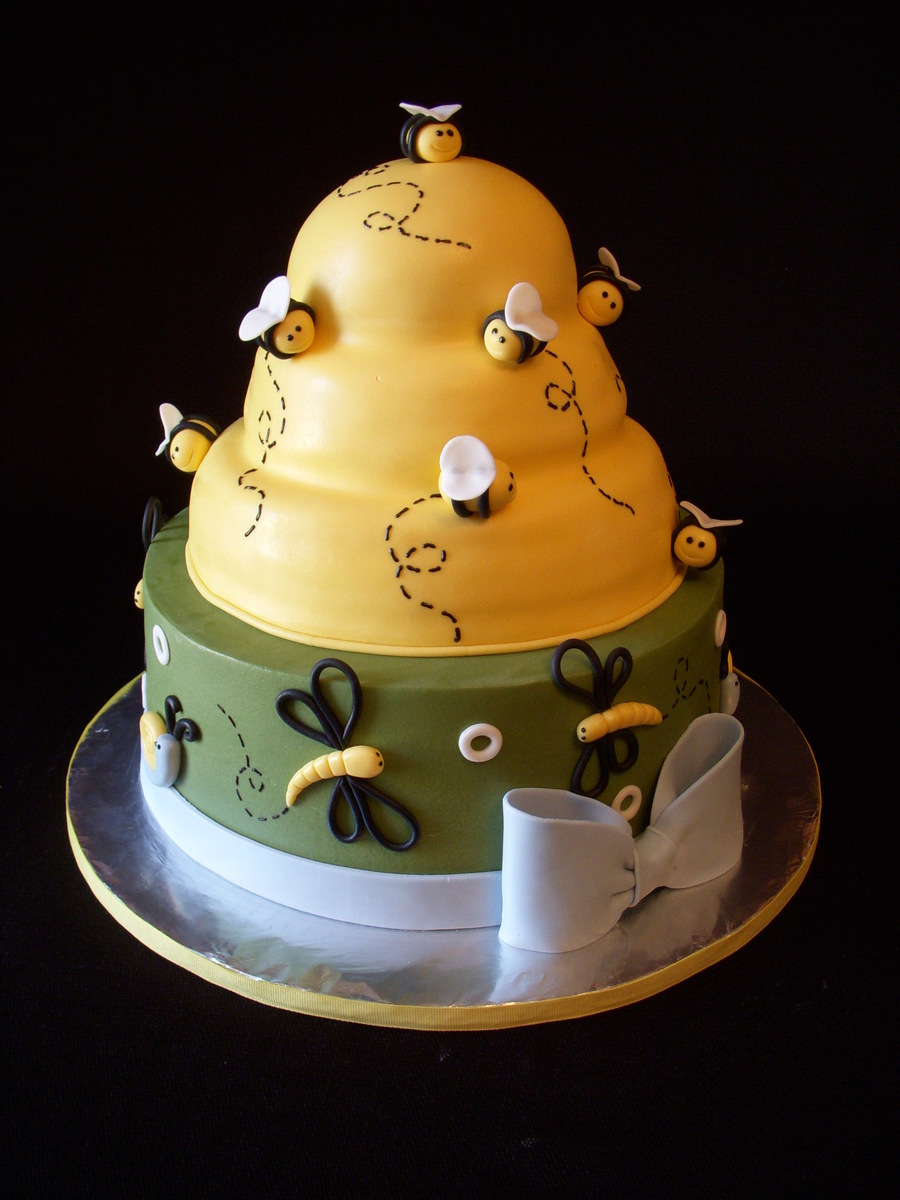 Beehive Baby Shower on Cake Central