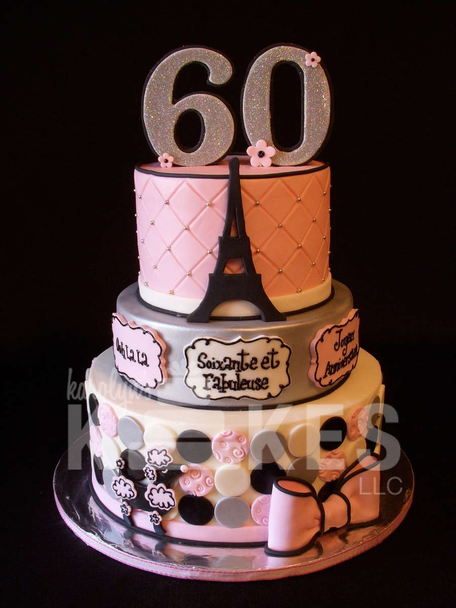 Paris 60Th Birthday on Cake Central