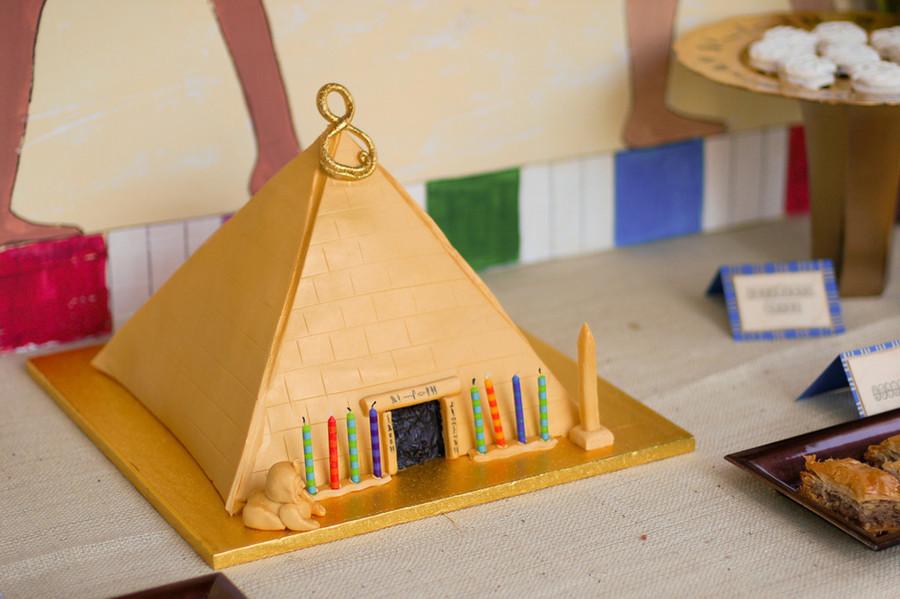 Egyptian Pyramid Cake Recipe