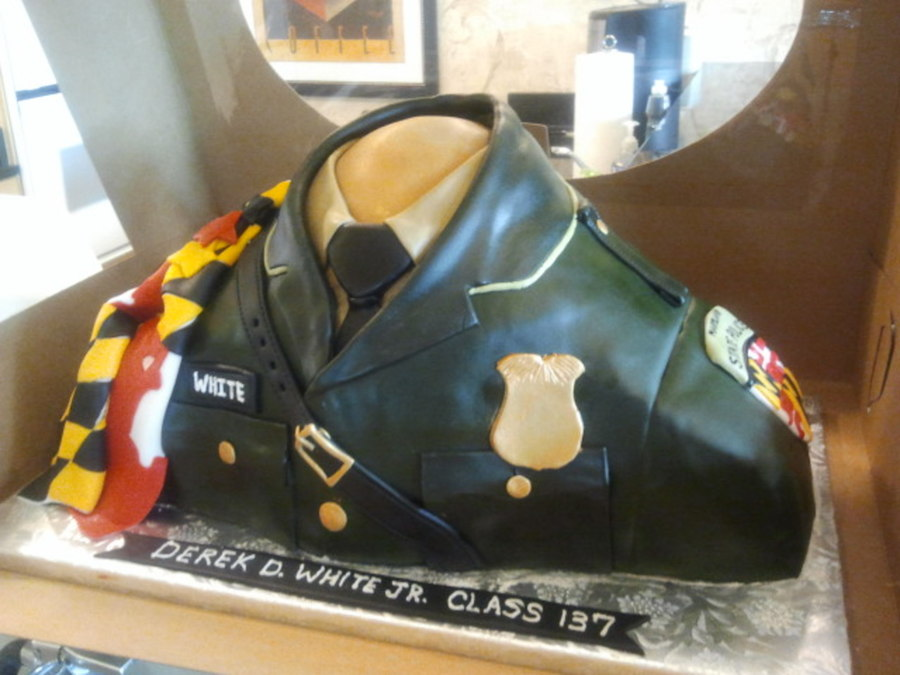 Maryland State Trooper Cake on Cake Central