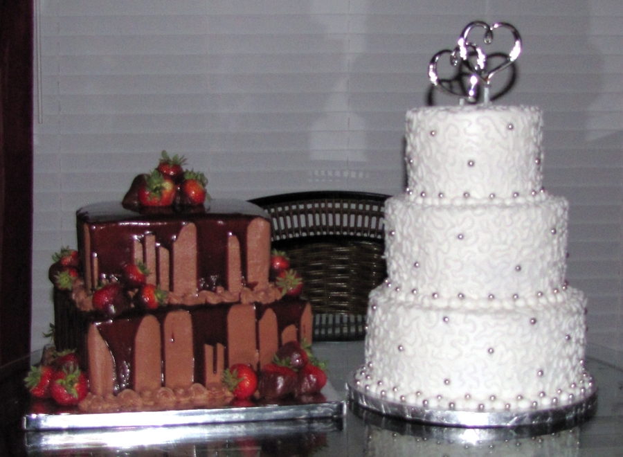 Bride And Groom's Cakes on Cake Central
