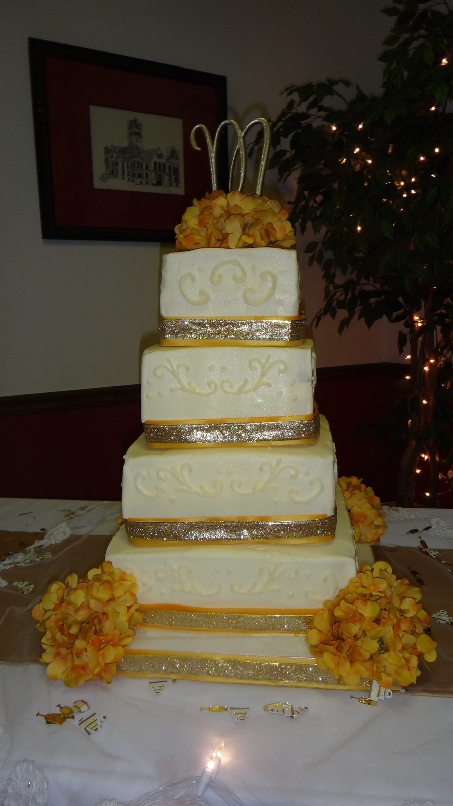 6 8 10 12 inch wedding cake 6 8 10 12 square wedding cake cakecentral 10483