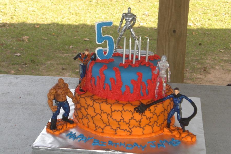 Fantastic Four Birthday Cake Cakecentral Com