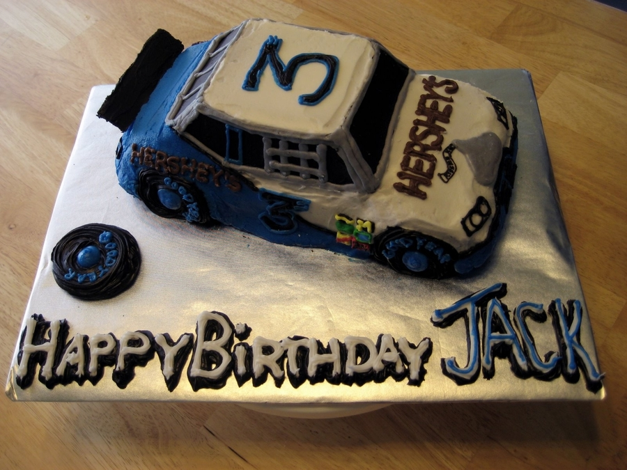 Hershey's Nascar on Cake Central