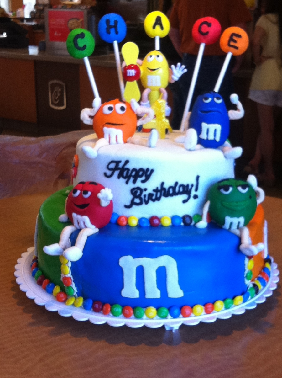 Birthday Cake Party Images : M&m Birthday Cake - CakeCentral.com