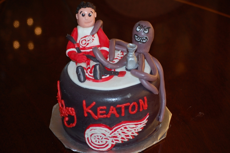 Detroit Red Wings Birthday on Cake Central