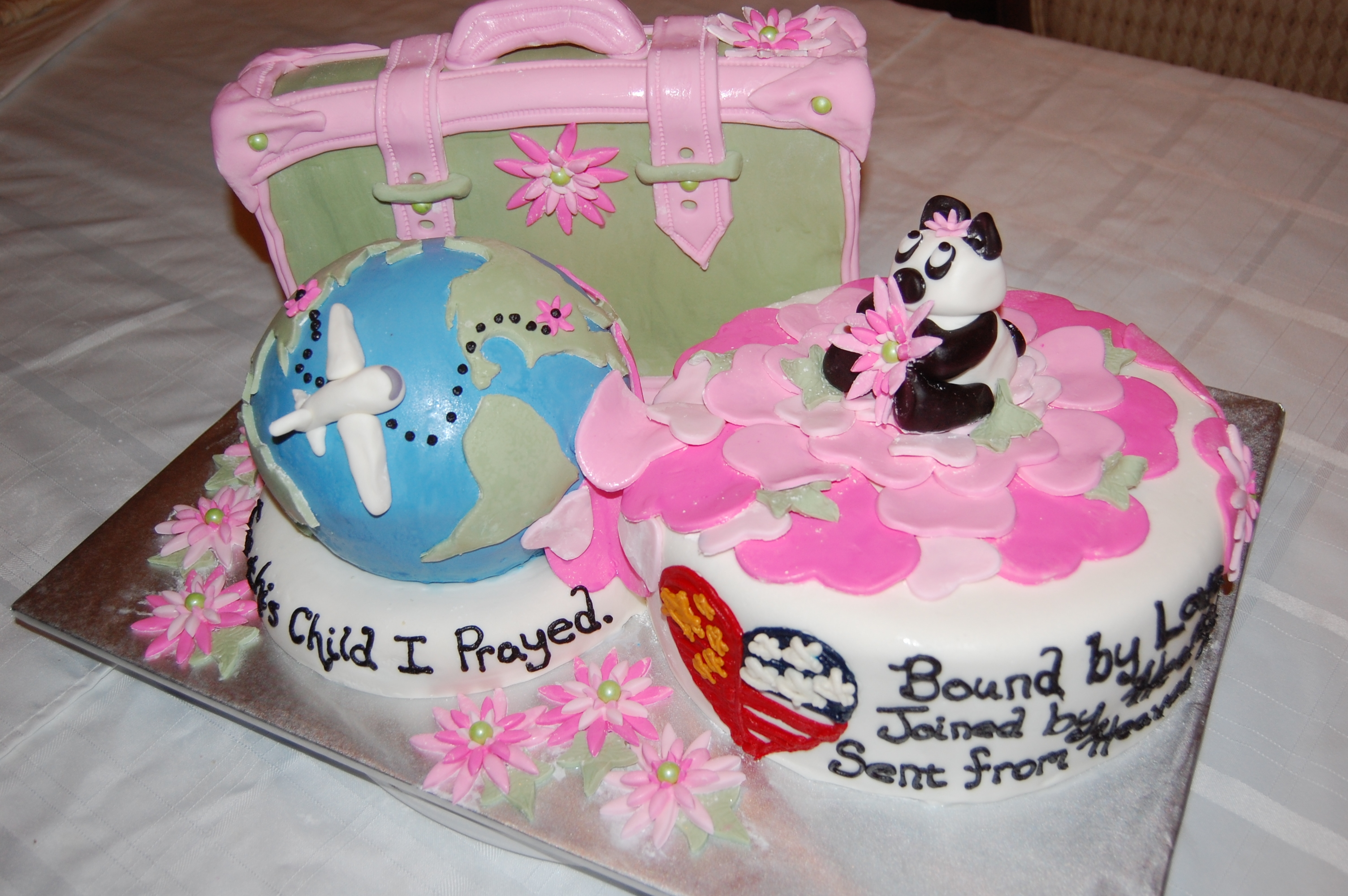 From China To Usa Adoption Is Final Baby Shower - CakeCentral.com