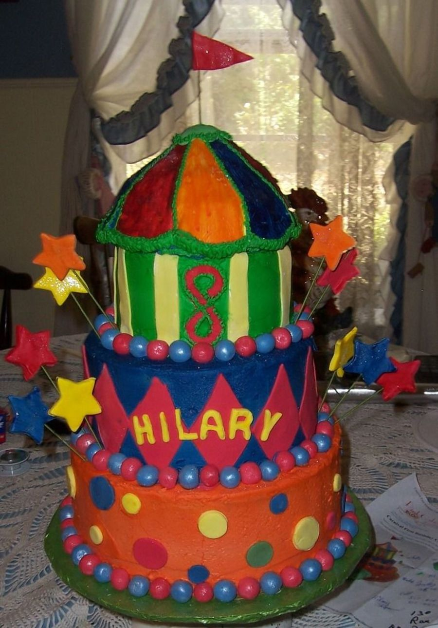 Circus Tent Birthday on Cake Central