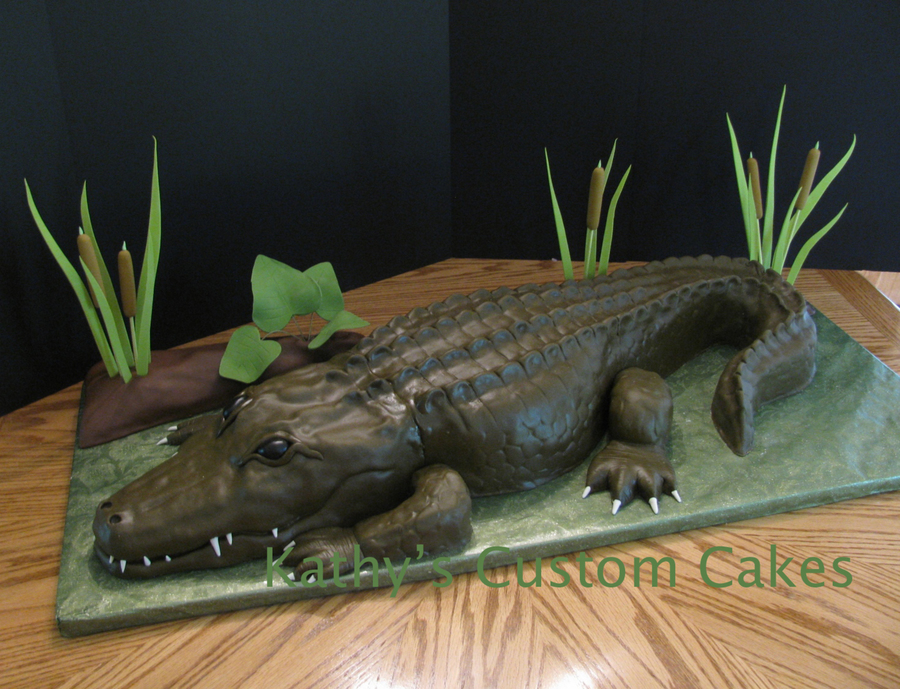 Louisiana Alligator on Cake Central