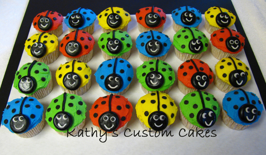 Happy Ladybugs! on Cake Central