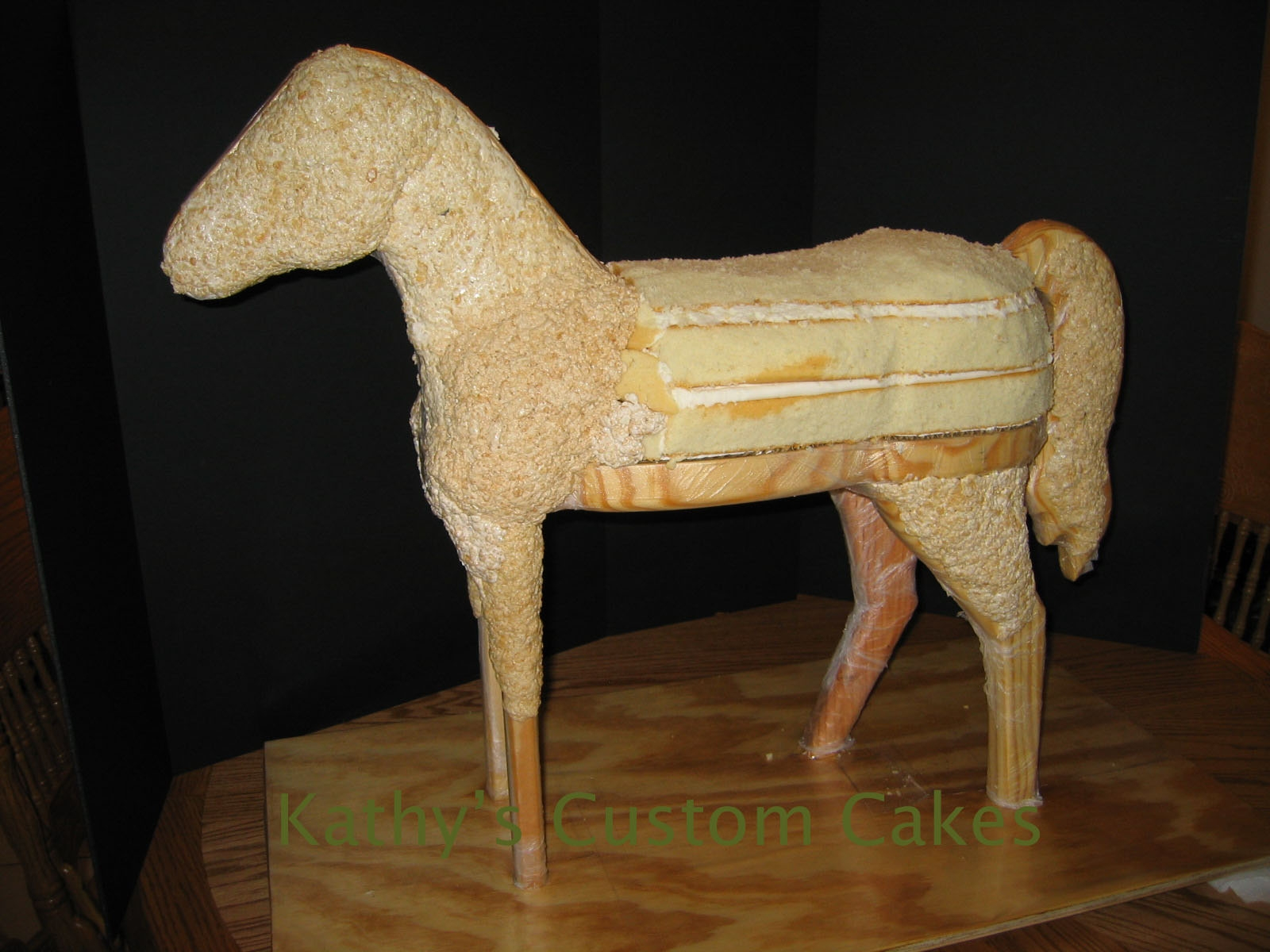 3 d horse cake i could not have done it without jesus for What can you make out of horseshoes
