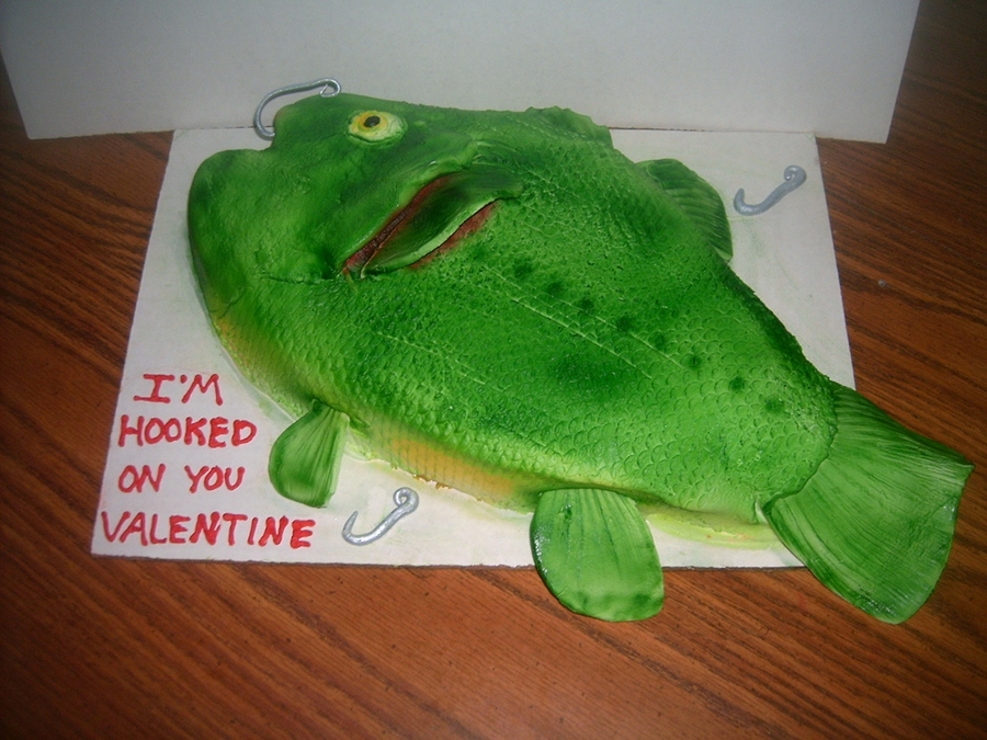 Fisherman's Valentine on Cake Central