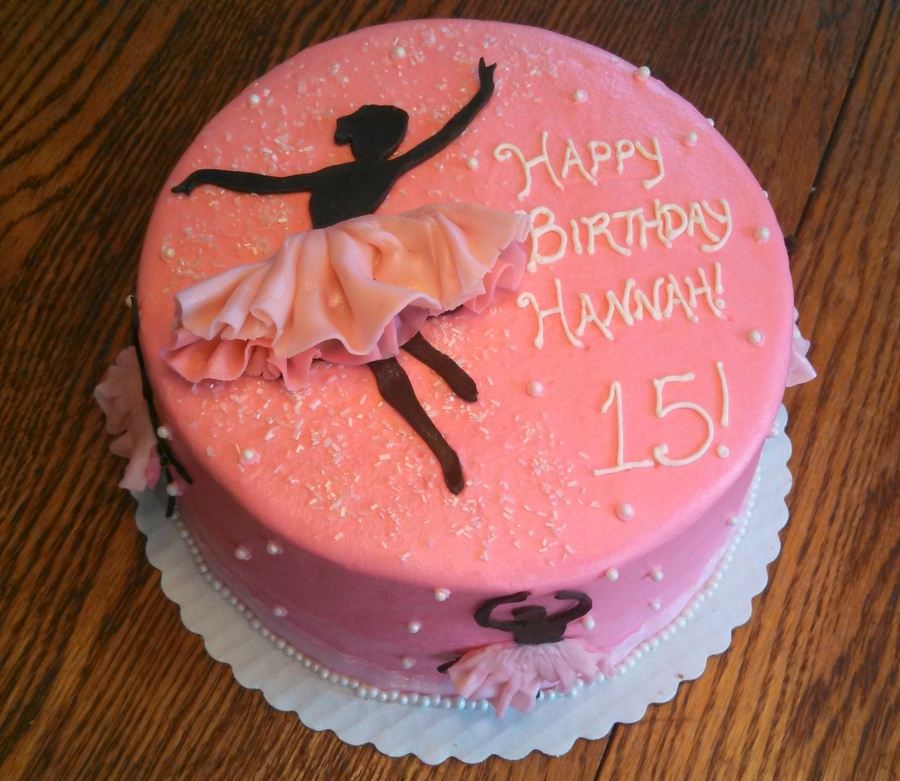 Ballet Cake Decorations