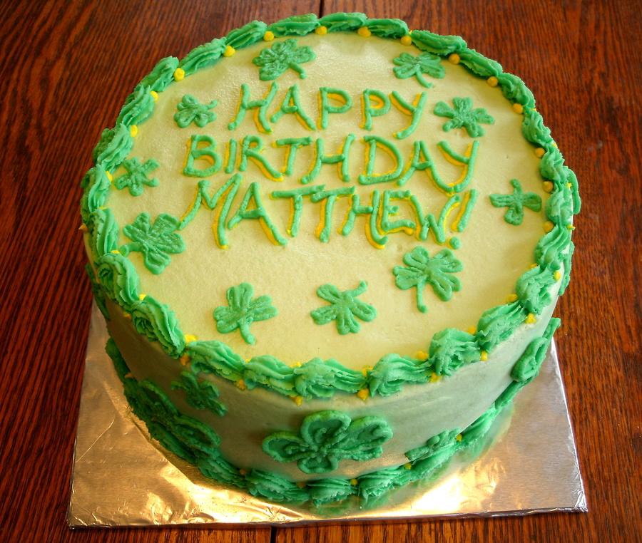 Decorating Ideas For St Birthday Cake