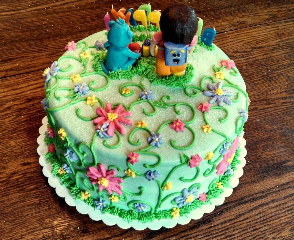 Dora The Explorer Birthday Cake CakeCentralcom