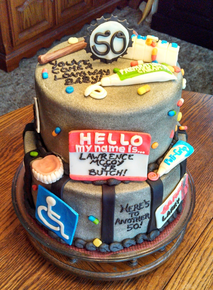 50th Birthday Cake Cakecentral Com