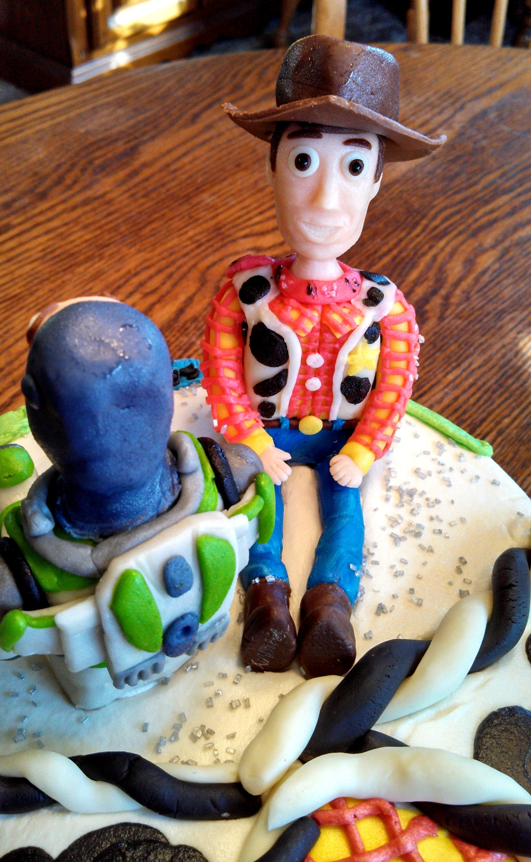 Toy Story Buzz And Woody Cake Cakecentral Com