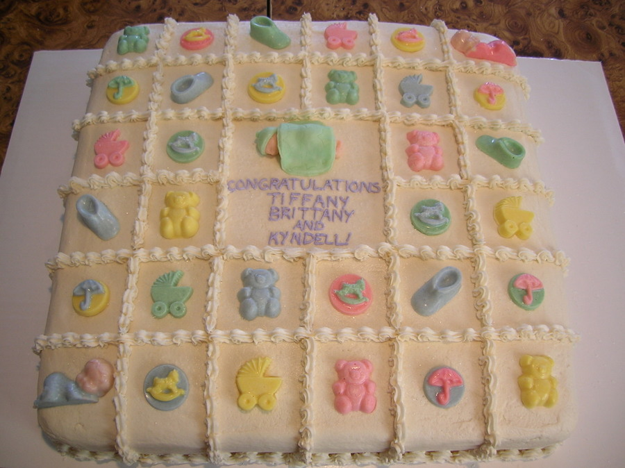 Baby Shower Sheet Cake Celebration Cakes