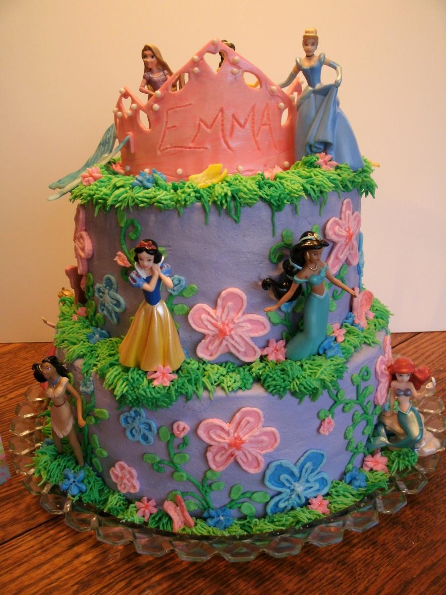 Disney Princesses Birthday Cake Cakecentral Com