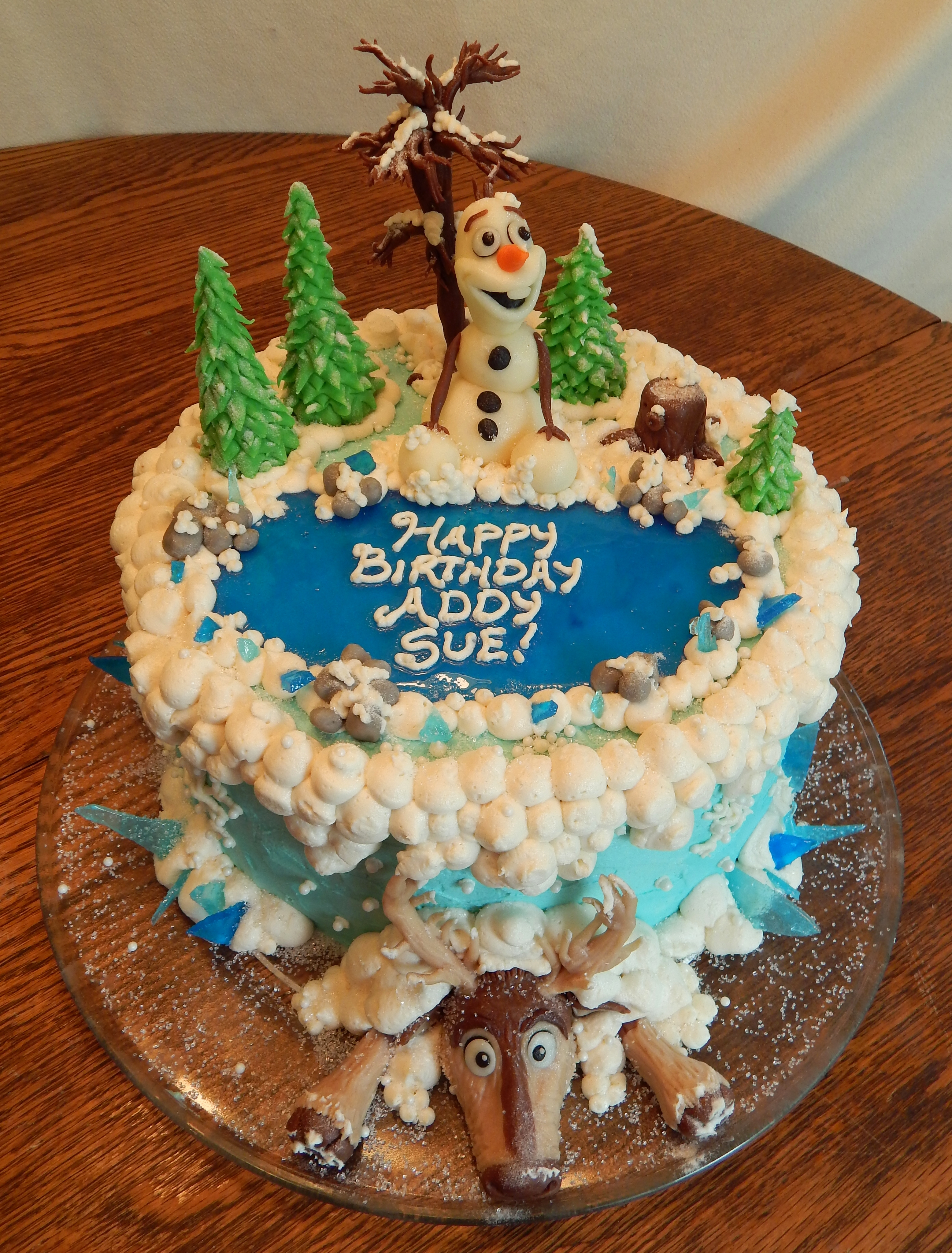 Frozen Cake Cakecentral Com